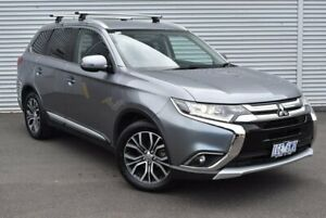 2015 Mitsubishi Outlander ZK MY16 LS 2WD Grey 6 Speed Constant Variable Wagon Epping Whittlesea Area Preview