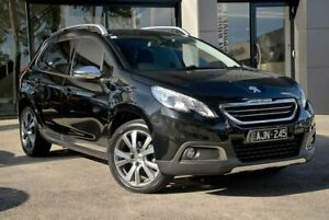 2015 Peugeot 2008 A94 Outdoor Black 5 Speed Manual Wagon Berwick Casey Area Preview