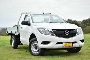2016 Mazda BT-50 UR0YD1 XT 4x2 White 6 Speed Manual Cab Chassis Strathalbyn Alexandrina Area Preview
