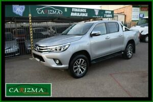 2017 Toyota Hilux GUN126R MY17 SR5 (4x4) Silver 6 Speed Automatic Dual Cab Utility Seven Hills Blacktown Area Preview