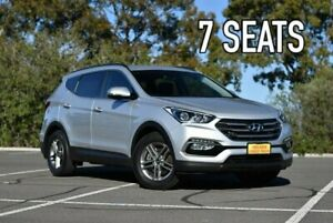 2016 Hyundai Santa Fe DM3 MY16 Active Silver 6 Speed Sports Automatic Wagon Enfield Port Adelaide Area Preview