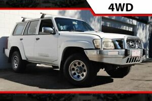 2007 Nissan Patrol GU 5 MY07 DX White 4 Speed Automatic Wagon Ashmore Gold Coast City Preview