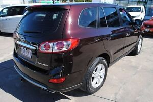 2011 Hyundai Santa Fe CM MY12 SLX Superior Red 6 Speed Sports Automatic Wagon Rosslea Townsville City Preview