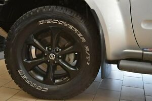 2014 Nissan Navara D40 MY13 ST-X (4x4) Silver 6 Speed Manual King C/Chas Belconnen Belconnen Area Preview
