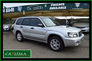 2004 Subaru Forester MY04 XT Silver 4 Speed Automatic Wagon Toongabbie Parramatta Area Preview
