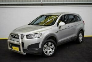 2014 Holden Captiva CG MY14 7 LS Silver 6 Speed Sports Automatic Wagon Canning Vale Canning Area Preview