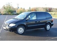 2006 Chrysler Voyager CRD SE, Diesel, Manual, 7 Seater. Poss Part Ex Motorcycle.