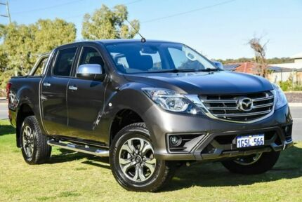 2018 Mazda BT-50 UR0YG1 XTR Brown 6 Speed Sports Automatic Utility Wangara Wanneroo Area Preview