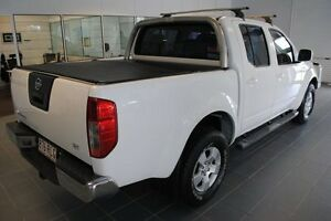 2011 Nissan Navara D40 ST White 5 Speed Automatic Utility Rosslea Townsville City Preview