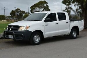 2006 Toyota Hilux TGN16R MY05 Workmate 4x2 White 5 Speed Manual Utility Brighton Holdfast Bay Preview