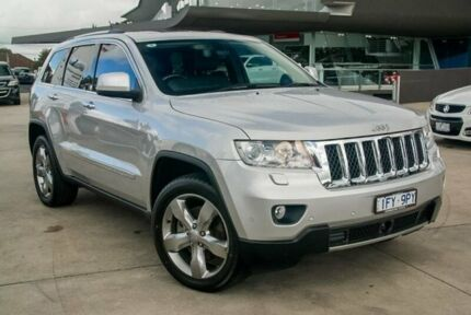 2012 Jeep Grand Cherokee Silver Sports Automatic Wagon