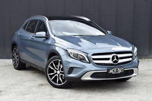 2014 Mercedes-Benz GLA 250 4MATIC X156 DCT 4MATIC Universe Blue 7 Speed Sports Automatic Dual Clutch Berwick Casey Area Preview
