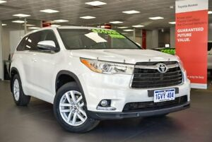 2016 Toyota Kluger GSU50R GX 2WD White 8 Speed Sports Automatic Wagon Bellevue Swan Area Preview