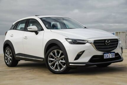 2018 Mazda CX-3 DK2W7A Akari SKYACTIV-Drive FWD LE White 6 Speed Sports Automatic Wagon Osborne Park Stirling Area Preview