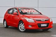 2008 Hyundai i30 FD MY09 SLX Red 4 Speed Automatic Hatchback Tweed Heads South Tweed Heads Area Preview