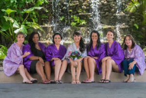 Get a FREE Bride Robe  with the purchase of 6 Bridal Party Robes