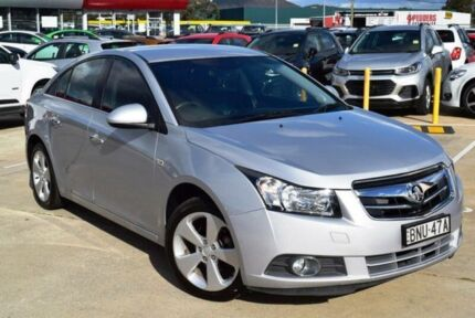2010 Holden Cruze JG CDX Nitrate 5 Speed Manual Sedan
