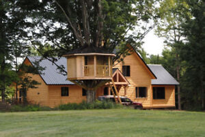 Sunny Timber Frame House For Rent