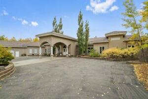 Home for Sale in Rural Strathcona County, AB (4bd 6ba/2hba)