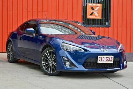 2013 Toyota 86 ZN6 GTS Blue 6 Speed Manual Coupe Molendinar Gold Coast City Preview