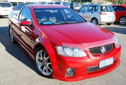2011 Holden Ute VE II SS V Redline Red 6 Speed Sports Automatic Utility