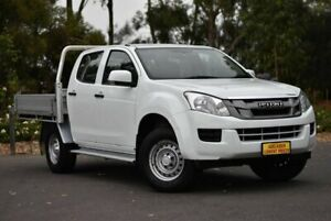 2014 Isuzu D-MAX MY14 SX Crew Cab 4x2 High Ride White 5 Speed Sports Automatic Utility Melrose Park Mitcham Area Preview