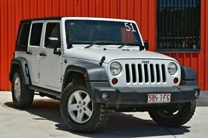 2013 Jeep Wrangler White Manual Softtop Woodridge Logan Area Preview
