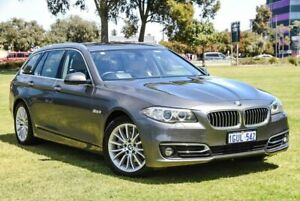 2014 BMW 5 Series F11 LCI 520d Touring Steptronic Luxury Line Grey 8 Speed Sports Automatic Wagon Burswood Victoria Park Area Preview
