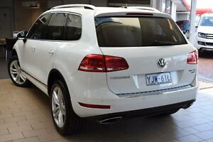 2013 Volkswagen Touareg 7P MY14 V6 TDI Pure White 8 Speed Automatic Wagon Belconnen Belconnen Area Preview