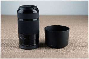 Like New Sony E 55–210 mm OSS Zoom Lens - Black.