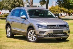 2018 Volkswagen Tiguan 5N MY18 162TSI DSG 4MOTION Highline Silver 7 Speed Burswood Victoria Park Area Preview