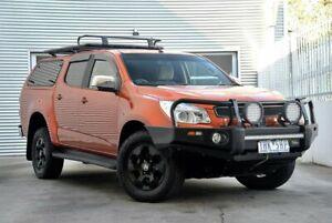 2016 Holden Colorado RG MY16 LTZ Crew Cab Orange 6 Speed Sports Automatic Utility Berwick Casey Area Preview