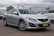 2010 Mazda 6 GH1051 MY09 Classic Silver 5 Speed Sports Automatic Hatchback McGraths Hill Hawkesbury Area Preview