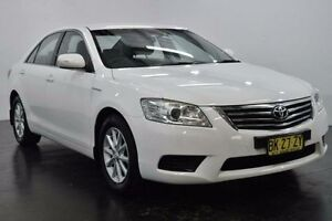 2011 Toyota Aurion GSV40R AT-X White Sports Automatic Sedan Lansvale Liverpool Area Preview