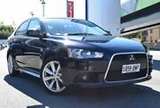 2013 Mitsubishi Lancer CJ MY14 VR-X Black 6 Speed CVT Auto Sequential Sedan St Marys Mitcham Area Preview