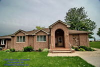 QUALITY LARGE BRICK RANCH ON 60' OF LAKE ST. CLAIR