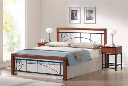 Franklin Double/Queen Bed Frame ( Price for double frame only)