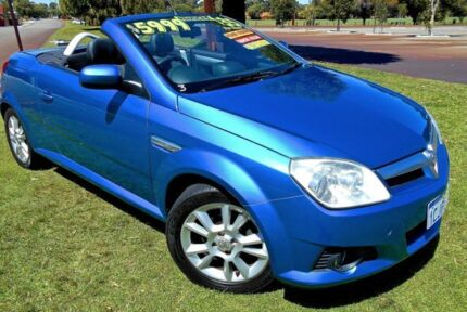 2006 Holden Tigra XC Blue 5 Speed Manual Convertible Mount Hawthorn Vincent Area Preview