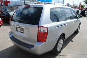 2010 Kia Grand Carnival VQ MY11 SI Clear Silver 6 Speed Sports Automatic Wagon Townsville Townsville City Preview