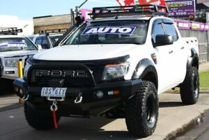 2015 Ford Ranger PX XL Double Cab White 6 Speed Sports Automatic Utility Altona North Hobsons Bay Area Preview