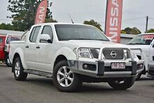 2012 Nissan Navara D40 S6 MY12 ST Arctic White 5 Speed Sports Automatic Utility Beaudesert Ipswich South Preview