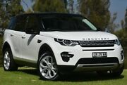 2016 Land Rover Discovery Sport L550 17MY TD4 180 HSE Polaris White 9 Speed Sports Automatic Wagon St James Victoria Park Area Preview