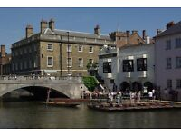 Full & Part Time Bar & Waiting positions at The Anchor, Cambridge - £7.50ph plus tips on top!!