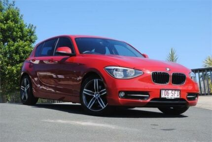 2012 BMW 118d F20 Red 8 Speed Sports Automatic Hatchback Chevallum Maroochydore Area Preview