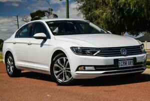 2018 Volkswagen Passat 3C (B8) MY18 132TSI DSG Pure White 7 Speed Sports Automatic Dual Clutch Sedan