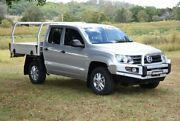 2015 Volkswagen Amarok 2H MY16 TDI400 4MOT Core Silver 6 Speed Manual Cab Chassis South Lismore Lismore Area Preview