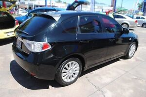 2008 Subaru Impreza G3 MY08 RX AWD Black 5 Speed Manual Hatchback Townsville Townsville City Preview