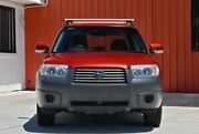 2007 Subaru Forester 79V MY08 X AWD Red 4 Speed Automatic Wagon Molendinar Gold Coast City Preview