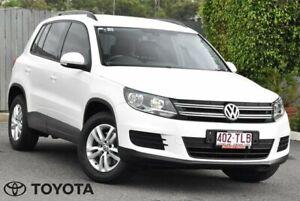 2013 Volkswagen Tiguan 5N 118TSI White Sports Automatic Dual Clutch Kedron Brisbane North East Preview