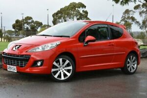 2009 Peugeot 207 A7 Series II MY10 GTi Red 5 Speed Manual Hatchback Brighton Holdfast Bay Preview